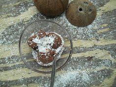 Cakepops, Cupcakes und co.: Schoko - Bananen - Kokoseis / vegan/ gesündere Alt...