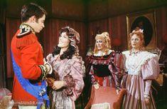 Faerie Tale Theatre Faerie Tale Theatre, Eve Arden, Jennifer Beals, Faeries, Ruffle Blouse, Diamonds, Fantasy, Women, Fairies