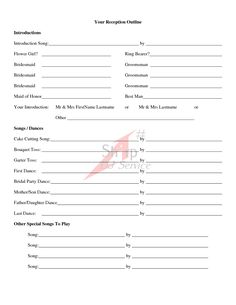 wedding ceremony outline examples | Wedding Ceremony Outline...