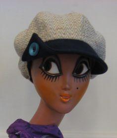 Villakangaslippis Beanie, Hats, Fashion, Moda, Hat, Fashion Styles, Beanies, Fashion Illustrations, Hipster Hat