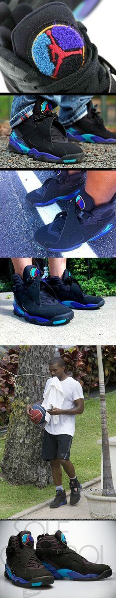"e17a7c7af795 Air Jordan 8 ""Aqua""  Estephanie Mota  Ashley Stypayhorlikson Santos Sheeran  Stromberg  3  .  Romeo s shoes ."