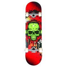 MGP Honcho Style Noise Print Skateboard - Skateboards - Skateboards, Skates & Scooters - Sports & Outdoors - The Warehouse