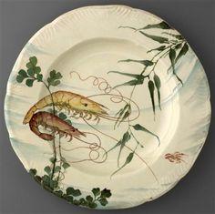 Soup plate. Henri Lambert, Eugène Rousseau; cr 1884