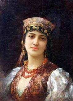 emile-eisman-semenowsky-una-chica-gitana-pintores-y-pinturas-juan-carlos-boveri.jpg (486×670)