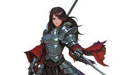 Spear_Knight, Daejun Park (Gae Go) on ArtStation at https://www.artstation.com/artwork/x431r