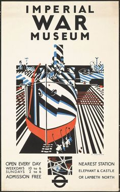 Fellow Vorticist Edward Wadsworth created pieces of artwork that used elements of the style of Vorticism yet for war purposes. For example, the Imperial War Museum have some brilliant examples of war posters.