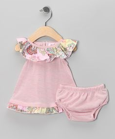 824fdcd93b83 Pink Margo Ruffle Tunic   Diaper Cover - Infant. Cute Baby ClothesDiaper  CoversDaily DealsBaby LoveCute BabiesLittle GirlsInfantTunicRuffles