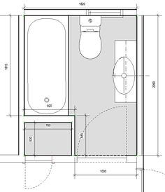 2d plan of small bathroom conversion to functional shower for Bathroom 2d planner