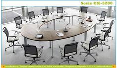 Galería mesas de juntas y reuniones serie CX3200. | Muebles y sillas de oficina.