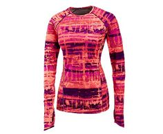 Saucony Velocity Long Sleeve-Fun and crazy prints make your running wardrobe so exciting!!
