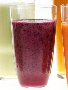 Blackberry-Cinnamon Smoothie 1 1/2 cups frozen blackberries 1/2 cup ...