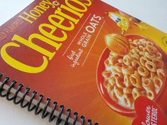 Food Box Notebook 7.50 X 8.50 100 Sheets Upcycled by LeeEmporium