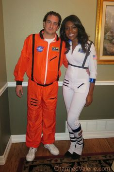 dfd29179f2d2 Couples Halloween Costume Astronauts   Nasa Space Costumes