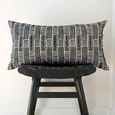 Monochrome cushion ❤️