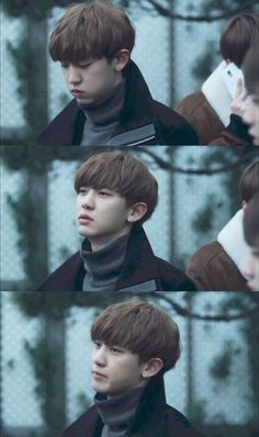"""please, don't pretend to love me. Chanyeol Cute, Park Chanyeol Exo, Baekhyun Chanyeol, Kpop Exo, Baekyeol, Chanbaek, Chansoo, Kai, Exo Album"