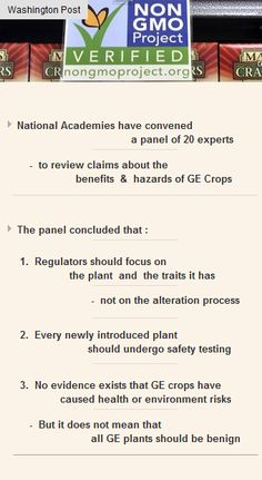 Every newly introduced #plant should undergo safety #testing #startups #funding #vc #GMO http://arzillion.com/S/5druRh