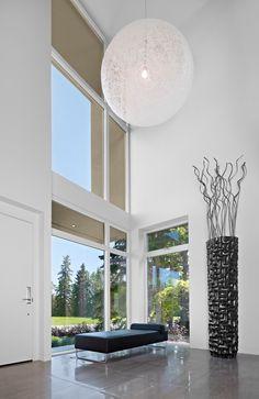 Extraordinary Tall Floor Vases Decorating Ideas Gallery in Entry Modern design ideas