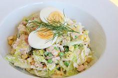 muna-tonnikala salaatti