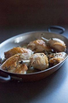 Roasted chicken pieces | Real Food School | Photo: Christine Sharp