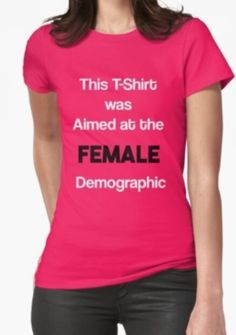 You Have To Buy It 'Cause It's Your Demographic. Click To Buy!