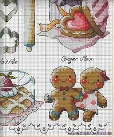 Gallery.ru / Фото #5 - G 17 - Domenica Cross Stitch Cards, Cross Stitch Kits, Cross Stitch Designs, Cross Stitching, Cross Stitch Embroidery, Everything Cross Stitch, Baby Cross Stitch Patterns, Christmas Embroidery Patterns, Cross Stitch Kitchen