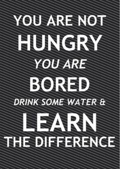 Hungry vs Bored