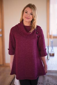Bellevue Tunic - from the Fall 2014 Issue of Love of Knitting magazine