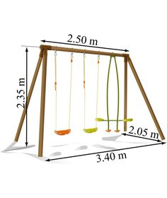 Buy Soulet Pinede Double Swing and See-Saw Swing Attatchment at Argos.co.uk - Your Online Shop for Swings.