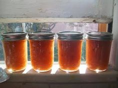 White Peach Jam with Vanilla and Lavender
