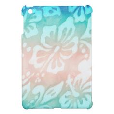 Shop for Flower iPad cases and covers for the iPad Pro or Mini. No matter which iteration you own we have an iPad case for you! Ipad 1, Ipad Case, School Binders, Luau Party, Dolphins, Beach Mat, Back To School, Nautical, Projects To Try