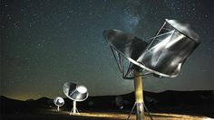 """Alien interpreters? How linguists would talk to E.T. -- Sci-fi movie """"Arrival"""" raises the question: -- The SETI Institute is using the Allen Telescope Array in Northern California"""