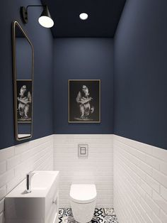¡Alerta deco! Los baños de color azul son la última tendencia