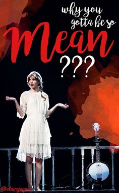 Taylor Swift Mean lyric edit by Claire Jaques