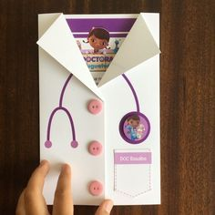 Tarjetas De Invitación Dra Juguetes Barquitodepapel