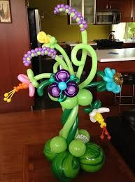 Image result for balloon flower centerpieces