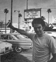 Neil Diamond at the Hullaballo, Sunset Blvd.