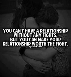 What types of fights do you have in love relationships?