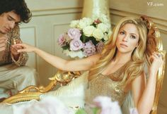 Shakira Vanity Fair speared taken by Bruce Handy