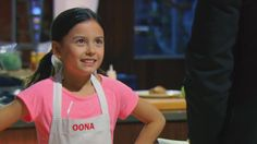 Master Chef Jr Fox- love this show & these brilliant, funny & resilient youngsters -9-year-old Oona impresses the judges with her spicy seared pork loin.