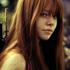 face, red hair, bangs, beauti, redhead, gingers, freckles, redhair, red head