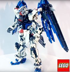 LEGO (MOC): ZGMF-X10A Freedom Gundam by Demon1408 Created by Demon1408 Youtube: https://www.youtube.com/watch?v=ilg43m2OSko ...
