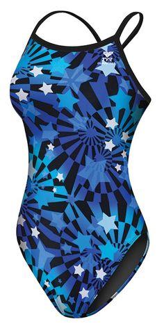 TYR   Women's Sea Stars Diamondfit Swimsuit - Swimwear -
