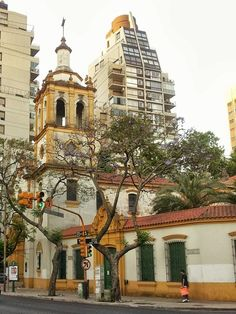 Luis María Campos y Dorrego. Another example of quite different styles of architecture.Buenos Aires-Argentina