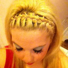 I had my hair like this for military ball once