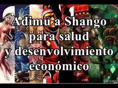 Adimu a Shango para salud y desenvolvimiento económico