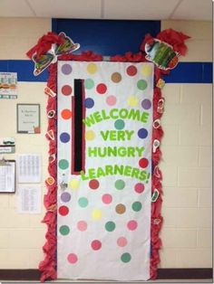 Inspired by Eric Carle | 29 Awesome Classroom Doors For Back-To-School