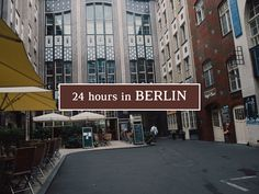 Travel jounal – 24 hours in Berlin Germany Europe, Berlin Germany, Germany Travel, The Good Place, Travel Tips, To Go, Backpack, Street View, Lifestyle