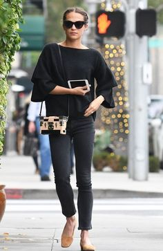 See how Alicia Vikander styles an $88 Madewell top—and shop it before it sells out.