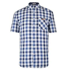 Short Sleeved Check Shirt Description: Refresh your off duty wardrobe with this Lindbergh short sleeved shirt. This causal style has a check and dot pattern with mother of pearl buttons.Size selection: Standard sizingFits true to size, take your normal size Cut with a regular fit100% cotton Machine washable Blue XX... http://qualityclothing.me.uk/short-sleeved-check-shirt-15/