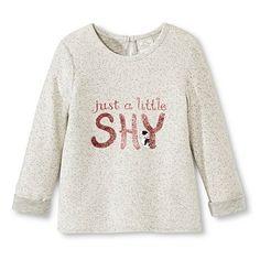 Toddler Girls' The Shy Little Kitten T- Shirt - Light Grey Heather